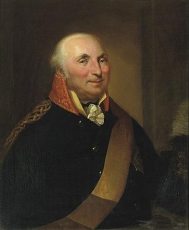 portrait of a gentleman baron geusau by friedrich georg weitsch