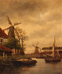 nr. goes, holland by hermanus koekkoek the younger