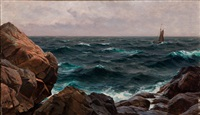 strand cliffs by berndt adolf lindholm