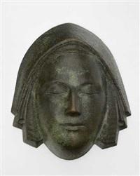 weibliche maske xiv by wilhelm husgen