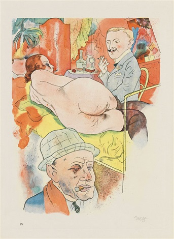 ecce homo pliv by george grosz