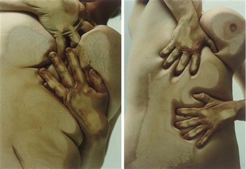closed contact b and d 2 works by jenny saville