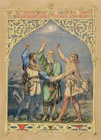 der rütlischwur by julius rudolf leemann