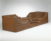 terrazza furniture system (pair) by ubald klug