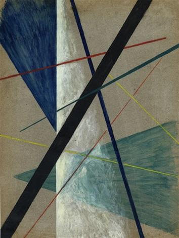 composizione lineare by liubov popova