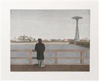 coney island - self-portrait by max ferguson