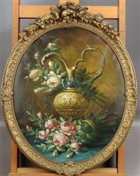 vase fleuri by jan h. peypers