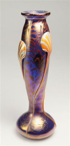 vase phänomen gre cobalt by johann lötz witwe