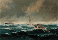 rescue at sea by john henry mohrmann