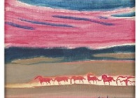 les chevaux du soir by andré brasilier
