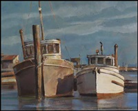 two boats by ronald threlkeld jackson