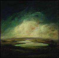 ontario summer, green sky by david bierk