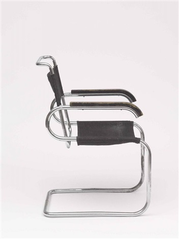 freischwinger b 55 by marcel breuer on artnet. Black Bedroom Furniture Sets. Home Design Ideas