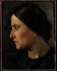 profilo di donna by giovanni grande