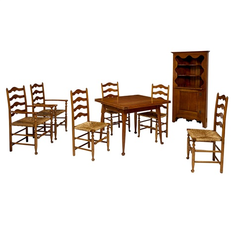 Stupendous Dining Set Dining Table 6 Chairs Four Side Two Arm Corner Alphanode Cool Chair Designs And Ideas Alphanodeonline