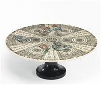 tulipani geometrico low table by piero fornasetti