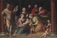the holy kinship by frans floris the elder