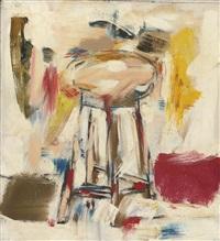 untitled (stool) by michael goldberg