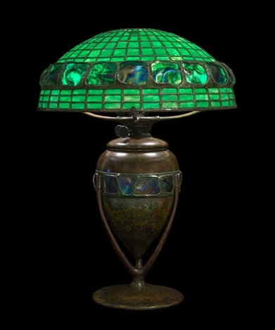 Tiffany studios early 20th century a turtle back table lamp by tiffany studios early 20th century a turtle back table lamp by tiffany studios aloadofball Choice Image