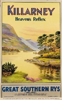 killarney, heaven's reflex, great southern railways by walter till