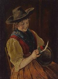 dem schatz'l auf'n huat by emma (edle von seehof) müller