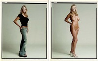 sunrise adams - clothed (+ sunrise adams - nude; 2 works) by timothy greenfield-sanders