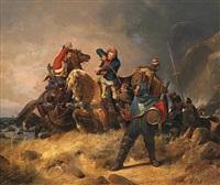 kampf gegen schmuggler an der englischen küste by henry ritter