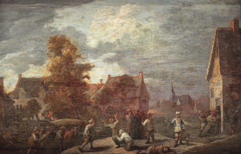 spanish soldiers punishing protestants by david teniers the younger