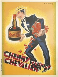 cherry maurice chevalier by roger de valerio