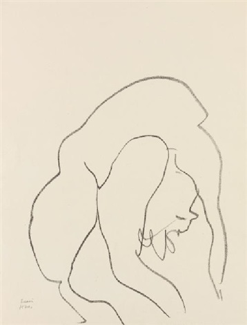 danseuse acrobate pl7 by henri matisse