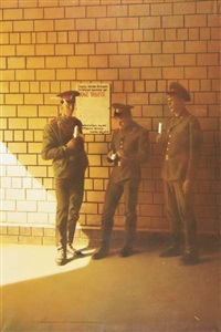 soldiers (from train station series) by semyon faibisovich