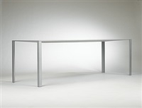 less dining table by jean nouvel