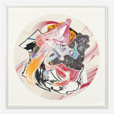 bilbimtesirol from the imaginary places ii series by frank stella