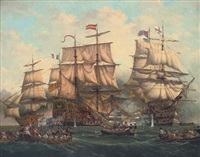 the battle of trafalgar by denzil smith
