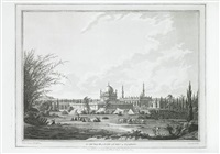 eight views (from places in the kingdom of mysore by j.w. edy, 8 works) by robert hyde colebrooke