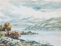 loch awe (+ loch tornidon; pair) by john hamilton glass