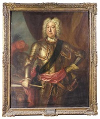 portrait of general george carpenter, 1st baron carpenter of killaghy by martin maingaud