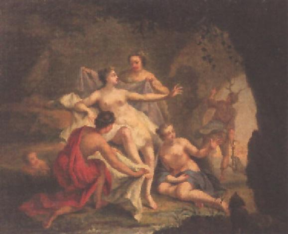 artemis und aktaion by noël nicolas coypel