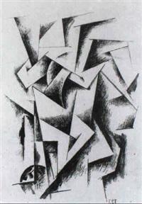 konstruktivistische komposition by georgi avgustovich stenberg
