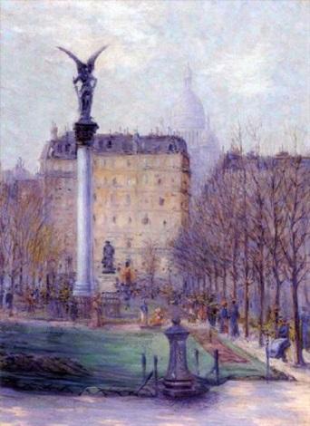 paris, au jardin public by rudolf quittner