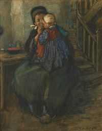 le petit déjeuner by charles william bartlett