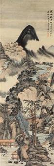 溪山秋色 by ming jian