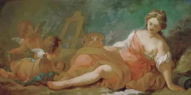 allegorie der malerei by nicolas guy brenet