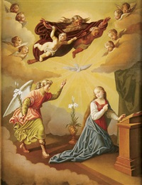 the annunciation by emmanuel kratky