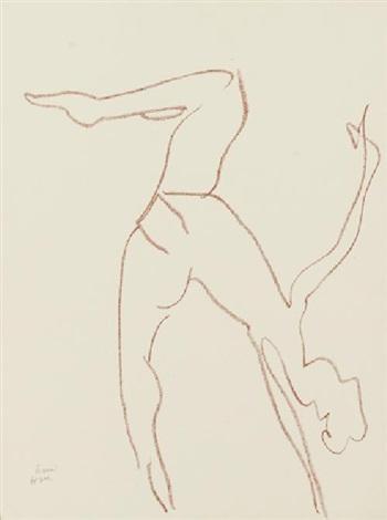 danseuse acrobate, pl.10 by henri matisse