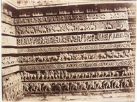 halebid. sculptural friezes on the east side of the south doorway, hoysalesvara temple by richard banner oakeley