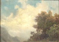 cloud study by john william casilear