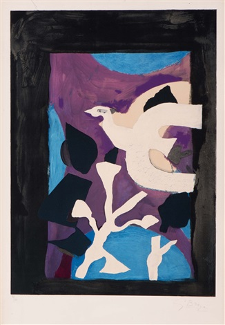 oiseau by georges braque