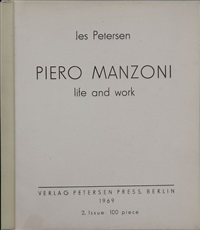 life and work (bk w/60 transparent plastic sheets) by piero manzoni