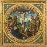 the crucifixion by flemish school-antwerp (16)